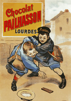 Affiche ancienne chocolat Pailhasson